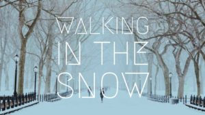 Foot health advice for walking in the snow