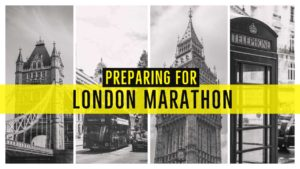 Foot care advice for preparing for the London Marathon